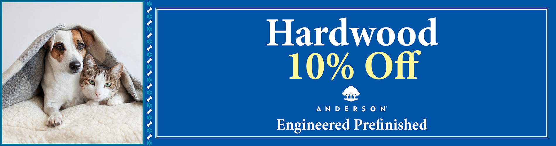 Hardwood  Engineered Prefinished  10% Off  Anderson